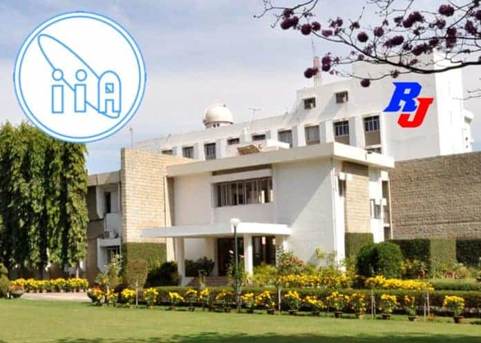 Regular and Dr Chandrashekhar Post-Doctoral Fellowships in IIA, India