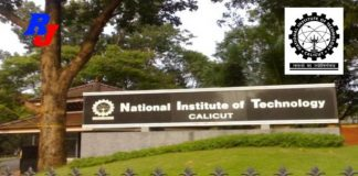 Faculty Positions - 2019 in NITC, National Institute of Technology Calicut