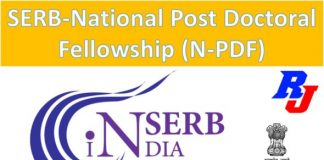 SERB - National Post Doctoral Fellowship (N-PDF) 2019 - Researchersjob
