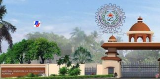 Faculty Position 2019 in NITA, National Institute Of Technology, Agartala