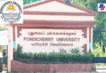 RA and JRF Positions at Pondicherry University, India