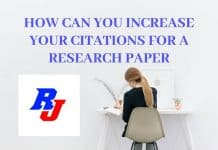 How can you Increase Your Citations for a Research Paper