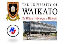 Waikato Doctoral Scholarship at University of Waikato, New Zealand